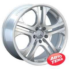 REPLICA Mercedes AR 393 Silver - Интернет магазин шин и дисков по минимальным ценам с доставкой по Украине TyreSale.com.ua