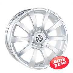 REPLICA Volkswagen JT1098 Silver - Интернет магазин шин и дисков по минимальным ценам с доставкой по Украине TyreSale.com.ua