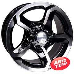Купить RW (RACING WHEELS) H-409 BK/FP R16 W8 PCD6x139.7 ET10 DIA108.2