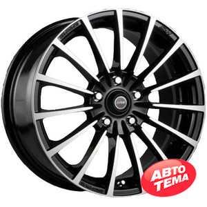 Купить RW (RACING WHEELS) H-429 BK/FP R15 W6.5 PCD4x100 ET35 DIA67.1