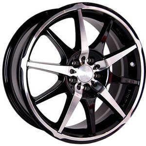 Купить RW (RACING WHEELS) H-410 BK/FP R17 W7 PCD5x108 ET40 DIA73.1
