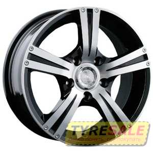 Купить RW (RACING WHEELS) H-326 BK/FP R16 W7 PCD4x100 ET40 DIA73.1