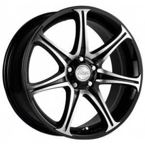 Купить RW (RACING WHEELS) H-134 BK-F/P R14 W6 PCD4x98 ET38 DIA58.6