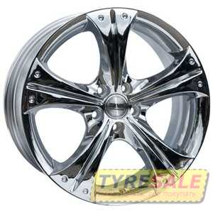 Купить RW (RACING WHEELS) H-253 Chrome R16 W7 PCD5x100 ET40 DIA73.1