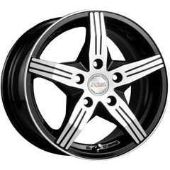 RW (RACING WHEELS) H-458 BK/FP - Интернет магазин шин и дисков по минимальным ценам с доставкой по Украине TyreSale.com.ua