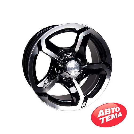 RW (RACING WHEELS) H-409 BK/FP - Интернет магазин шин и дисков по минимальным ценам с доставкой по Украине TyreSale.com.ua