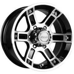 Купить RW (RACING WHEELS) H-468 BK-F/P R15 W7 PCD6x139.7 ET0 DIA110.5