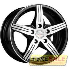 RW (RACING WHEELS) H-458 BKF/P - Интернет магазин шин и дисков по минимальным ценам с доставкой по Украине TyreSale.com.ua