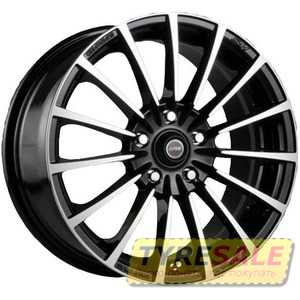 Купить RW (RACING WHEELS) H-429 BK/FP R16 W7 PCD5x114.3 ET40 DIA73.1