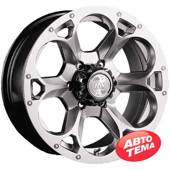 RW (RACING WHEELS) H-276 BK-F/P - Интернет магазин шин и дисков по минимальным ценам с доставкой по Украине TyreSale.com.ua