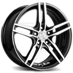 Купить RW (RACING WHEELS) H 534 BKFP R16 W7 PCD5x105 ET40 DIA56.6