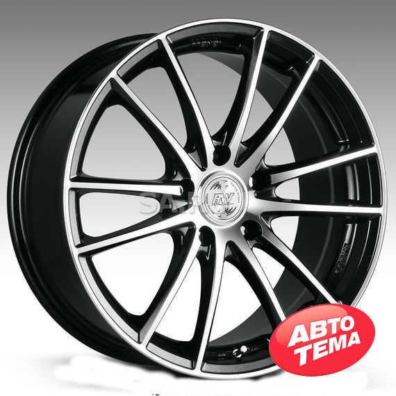 RW (RACING WHEELS) H 498 BKFP - Интернет магазин шин и дисков по минимальным ценам с доставкой по Украине TyreSale.com.ua