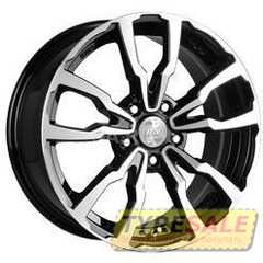 Купить RW (RACING WHEELS) H 497 BKFP R17 W7 PCD5x114.3 ET40 DIA67.1