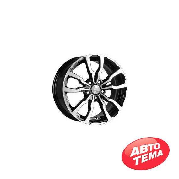 RW (RACING WHEELS) H 497 BKFP - Интернет магазин шин и дисков по минимальным ценам с доставкой по Украине TyreSale.com.ua