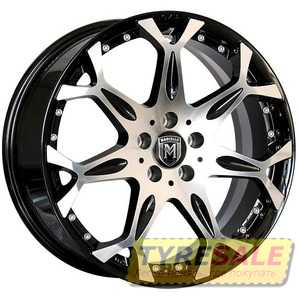 Купить MARCELLO MR05 AM/B R17 W7.5 PCD5x100 ET38 DIA73.1