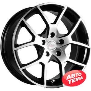 Купить RW (RACING WHEELS) H-466 BK-F/P R14 W6 PCD4x98 ET35 DIA58.6