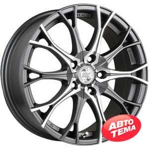 Купить RW (RACING WHEELS) H-530 DDN F/P R16 W7 PCD5x100 ET40 DIA73.1