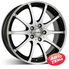 Купить DEZENT V dark Black/polished R17 W7 PCD5x114.3 ET40 DIA71.6