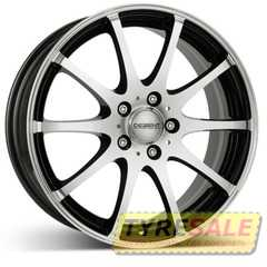 Купить DEZENT V dark Black/polished R17 W7 PCD5x114.3 ET40 DIA71.6