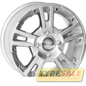 Купить PRIMO A267 Silver R13 W5.5 PCD4x100 ET38 DIA67.1