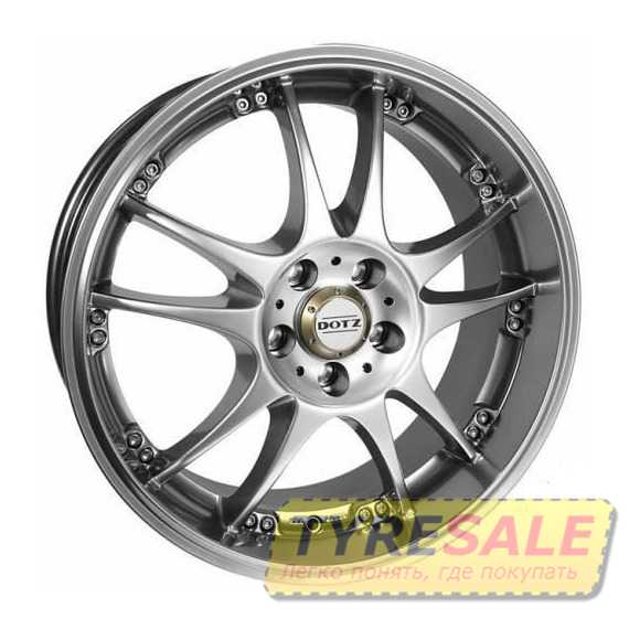DOTZ Brands Hatch Silver - Интернет магазин шин и дисков по минимальным ценам с доставкой по Украине TyreSale.com.ua