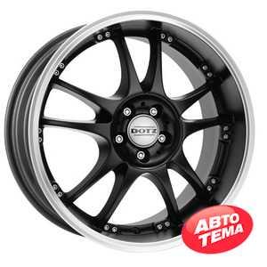 Купить DOTZ Brands Hatch Dark Black R18 W8 PCD5x112 ET35 DIA70.1