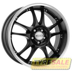 Купить DOTZ Brands Hatch Dark Black R18 W8 PCD5x112 ET35 DIA70.1
