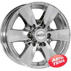 Купить DOTZ or Silver R17 W8 PCD6x139.7 ET20 DIA110