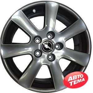 Купить BORBET CA Metal Grey R17 W7 PCD5x112 ET38 DIA72.6