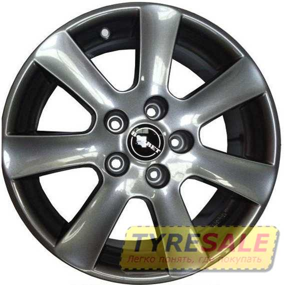 BORBET CA Metal Grey - Интернет магазин шин и дисков по минимальным ценам с доставкой по Украине TyreSale.com.ua