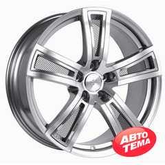 Купить FONDMETAL TECH 6 Shiny Silver Naked R18 W8 PCD5x120 ET40 DIA72.6