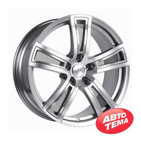 FONDMETAL TECH 6 Shiny Silver Naked - Интернет магазин шин и дисков по минимальным ценам с доставкой по Украине TyreSale.com.ua