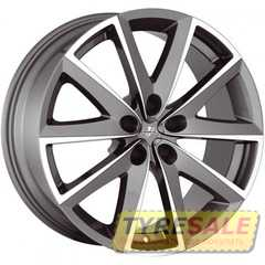 FONDMETAL 7600 Titanium Plus Polished - Интернет магазин шин и дисков по минимальным ценам с доставкой по Украине TyreSale.com.ua