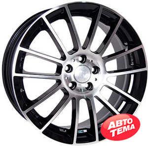 Купить RW (RACING WHEELS) H-408 BK/FP R17 W7.5 PCD5x100 ET45 DIA73.1
