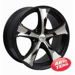 Купить WOLF S-1043 BLACK STEEL INS R20 W8.5 PCD5x114.3 ET45 DIA67.1