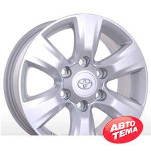 Купить REPLICA A-R282 Silver R18 W7.5 PCD6x139.7 ET25 DIA106.2