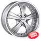 Купить DEZENT X Silver R16 W7.5 PCD5x110 ET42 DIA65.1
