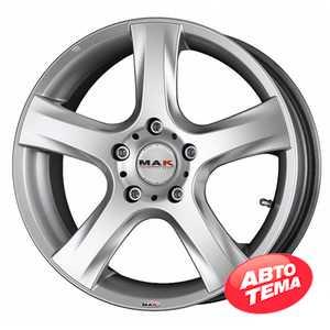 Купить MAK RAction Silver R15 W6.5 PCD5x100 ET35 DIA72