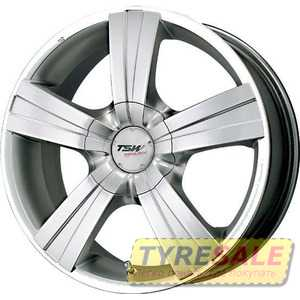 Купить TSW Reflex Silver R15 W6.5 PCD5x100 ET35 DIA72