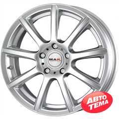 Купить MAK Cruiser Silver R16 W7 PCD5x114.3 ET40 DIA76