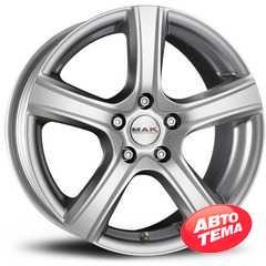 Купить MAK Scorpio Silver R16 W6.5 PCD5x100 ET48 DIA56.1