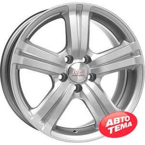 Купить MAK Flare Silver R16 W7 PCD5x100 ET35 DIA72