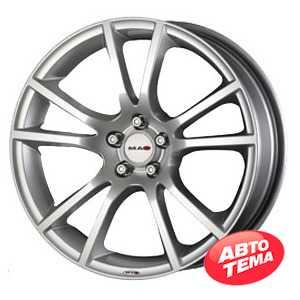Купить MAK Veleno Silver R18 W9 PCD5x114.3 ET35 DIA76