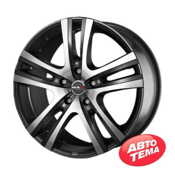 MAK Aria Gun Metallic Mirror Face - Интернет магазин шин и дисков по минимальным ценам с доставкой по Украине TyreSale.com.ua