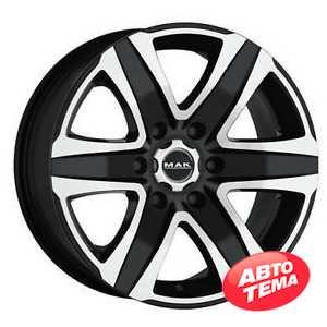 Купить MAK Stone 4x4 T Black Mirror R17 W8 PCD5x127 ET35 DIA71.6