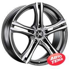 OZ RACING X5B MATT GRAPHITE DIAMOND CUT - Интернет магазин шин и дисков по минимальным ценам с доставкой по Украине TyreSale.com.ua