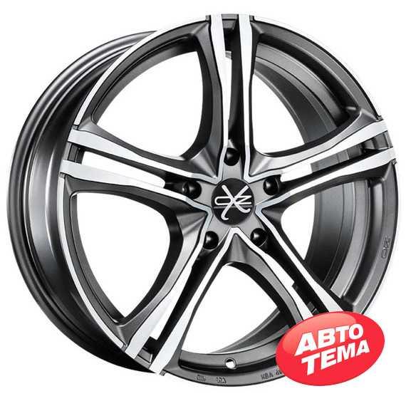 OZ X5B MATT GRAPHITE DIAMOND CUT - Интернет магазин шин и дисков по минимальным ценам с доставкой по Украине TyreSale.com.ua