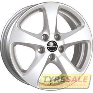 Купить BORBET CC Crystal Silver R17 W8 PCD5x120 ET20 DIA72.6