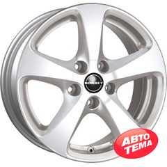 Купить BORBET CC Crystal Silver R18 W8.5 PCD5x130 ET50 DIA71.6