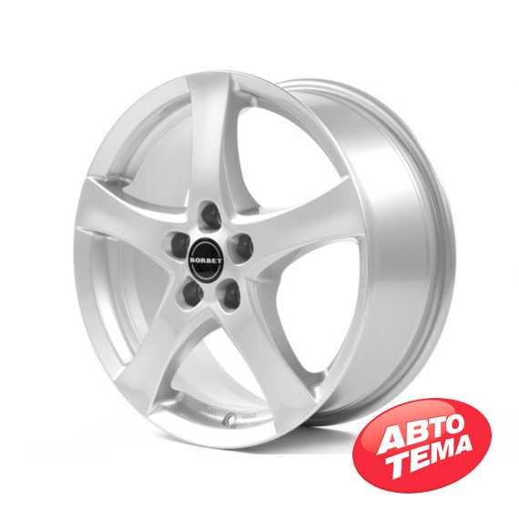 BORBET F Brilliant Silver - Интернет магазин шин и дисков по минимальным ценам с доставкой по Украине TyreSale.com.ua